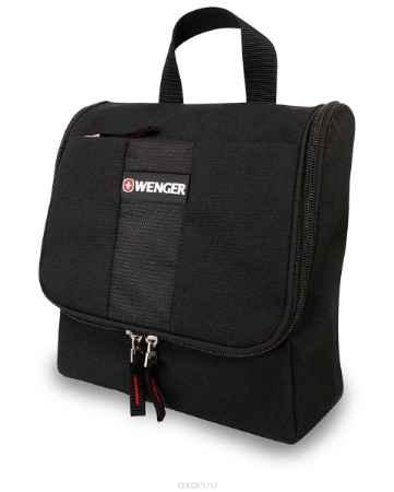 Купить Дорожная сумка Wenger, цвет: черный, 4 л. 608510