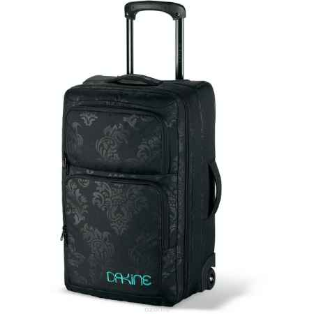 Купить Сумка с колесами Dakine Girls Carry-on Roller, 36л, цвет: черный, Арт.8350100