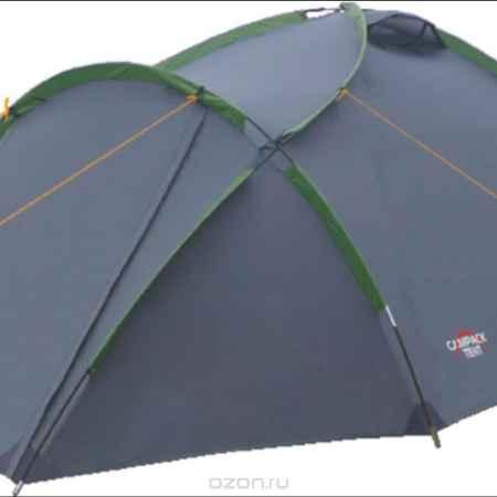 Купить Палатка Campack Tent Land Explorer 3, цвет: серо-зеленый