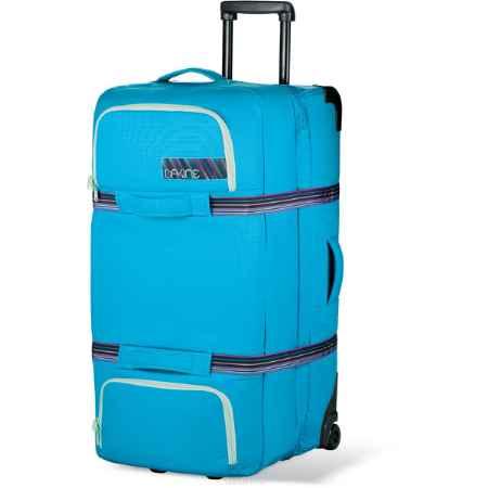 Купить Сумка с колесами Dakine Womens Split Roller, 65л, цвет: голубой, Арт.8350155