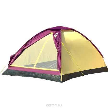 Купить Палатка Campland Mite 2 Violet-Yellow