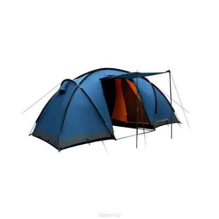 Купить Палатка четырехместная Trimm COMFORT II 4, цвет: синий