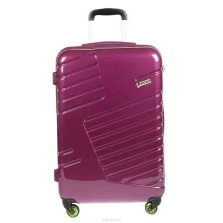 Купить Чемодан-тележка Verage, 58 л, цвет: фиолетовый. GM14042w 24 purple