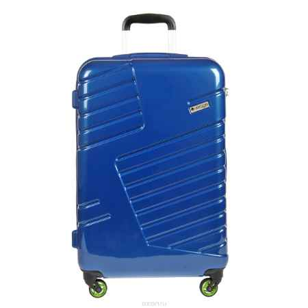 Купить Чемодан-тележка Verage, 58 л, цвет: синий. GM14042w 24 blue