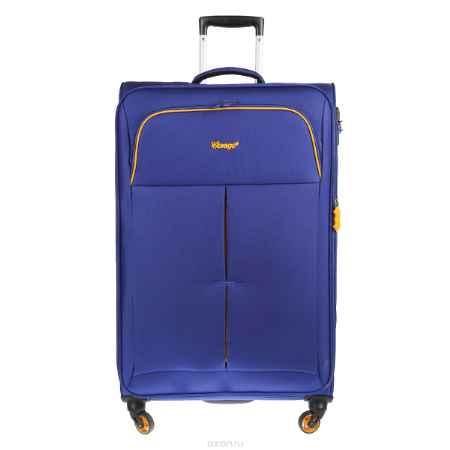 Купить Чемодан-тележка Verage, 95 л, цвет: синий. GM14040w 28 blue