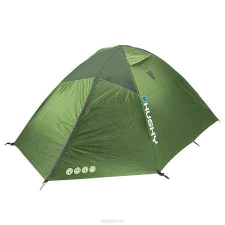 Купить Палатка Husky Bright 4 Light Green, цвет: светло-зеленый