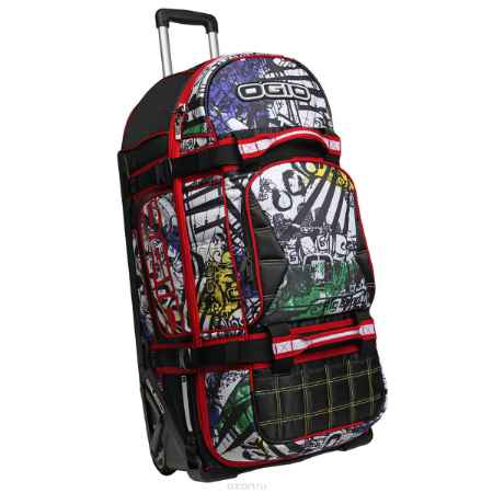 Купить Сумка на колесах OGIO Rig 9800, цвет: граффити. 121001.336
