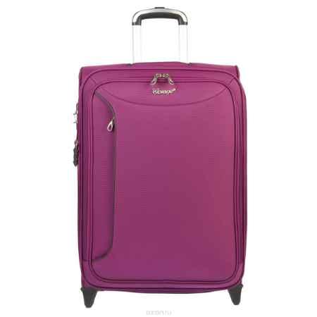Купить Чемодан-тележка Verage, 58 л, цвет: фиолетовый. GM12091T 24 purple