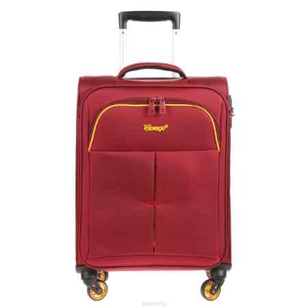 Купить Чемодан-тележка Verage, 30 л, цвет: бордовый. GM14040w 18.5 burgundy