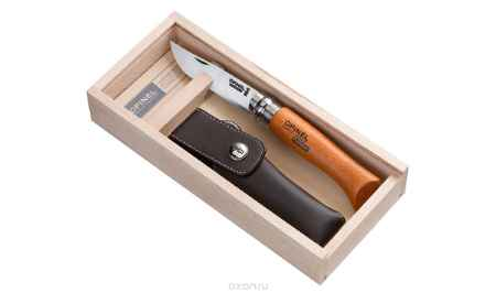 Купить Нож Opinel n°8 углеродистая сталь, подарочная коробка, чехол 000815