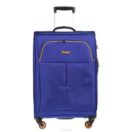 Купить Чемодан-тележка Verage, 58 л, цвет: синий. GM14040w 24 blue