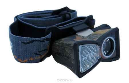 Купить Налобный светодиодный фонарь SOLARIS M20 камуфляж
