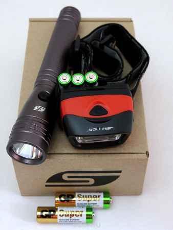 Купить Набор фонарей SOLARIS Kit F-10/L20 с комплектацией