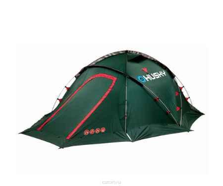 Купить Палатка Husky Fighter 3-4 Green