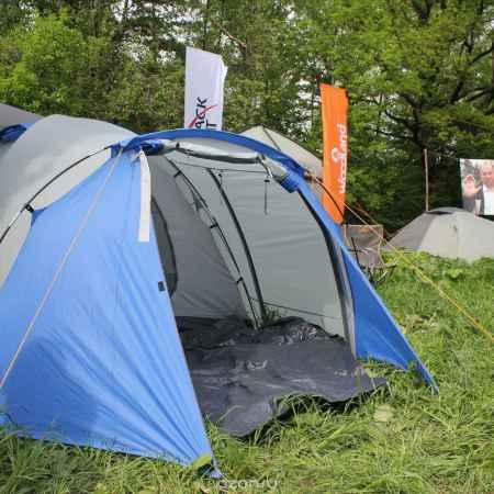 Купить Палатка туристическая CAMPACK-TENT Breeze Explorer 4 (2013) (серый/голубой) арт.0037636