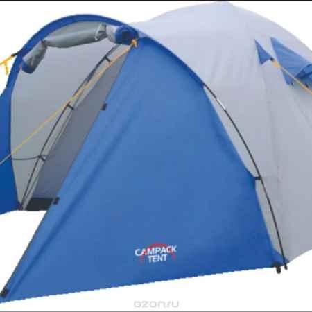 Купить Палатка Campack Tent Storm Explorer 3, цвет: серо-синий