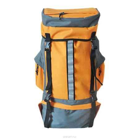 Купить Рюкзак туристический Happy Camper, цвет: серый, оранжевый. R-811