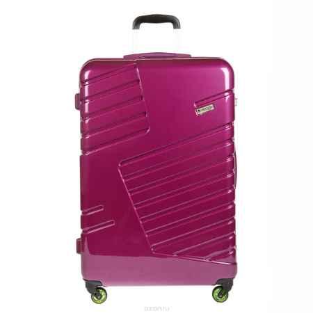 Купить Чемодан-тележка Verage, 95 л, цвет: фиолетовый. GM14042w 28 purple