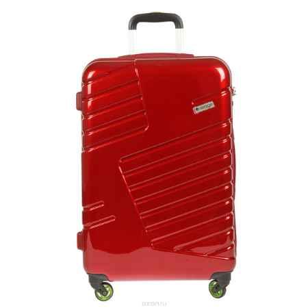 Купить Чемодан-тележка Verage, 58 л, цвет: красный. GM14042w 24 red