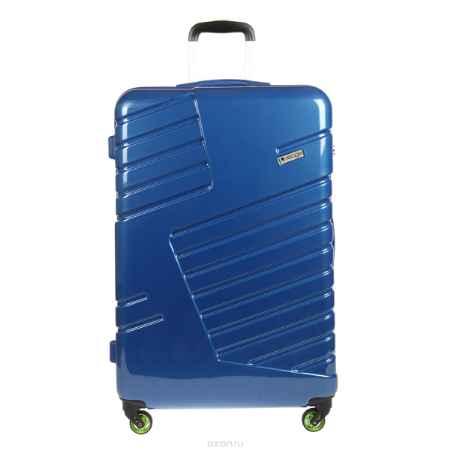 Купить Чемодан-тележка Verage, 95 л, цвет: синий. GM14042w 28 blue