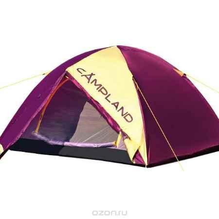Купить Палатка Campland Hornet 2 Violet-Yellow