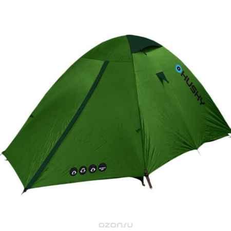 Купить Палатка Husky Bret 2 Light Green, цвет: светло-зеленый
