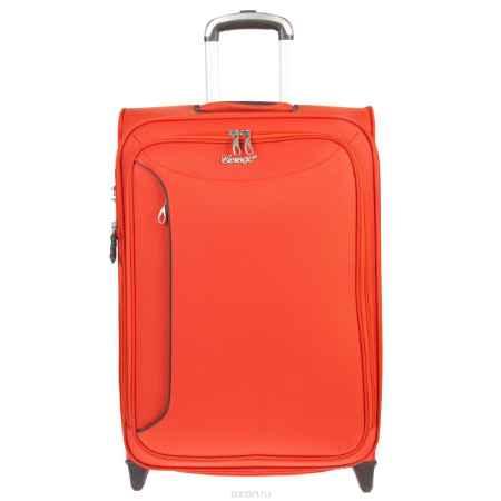 Купить Чемодан-тележка Verage, 58 л, цвет: оранжевый. GM12091T 24 orange