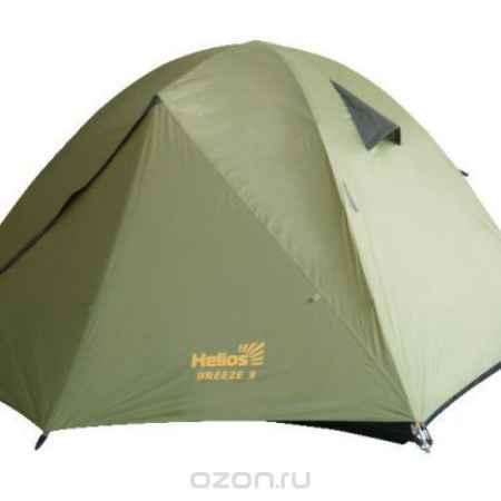 Купить Палатка BREEZE-3 (HS-2370-3) Helios , цвет: зеленый