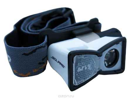 Купить Налобный светодиодный фонарь SOLARIS M20 белый
