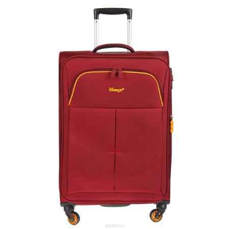 Купить Чемодан-тележка Verage, 58 л, цвет: бордовый. GM14040w 24 burgundy