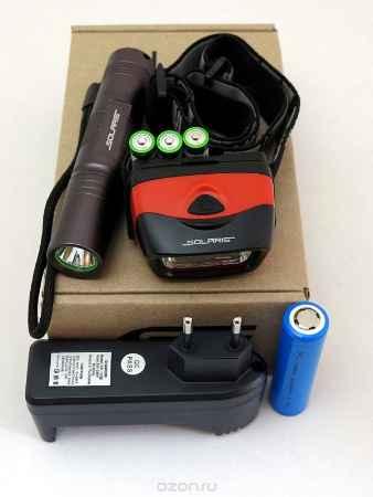 Купить Набор фонарей SOLARIS Kit F-30/L20 с комплектацией