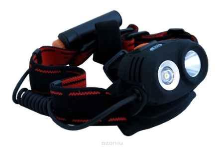 Купить Налобный светодиодный фонарь SOLARIS M40 черный