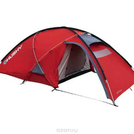 Купить Палатка Husky Felen 2-3 Red, цвет: красный