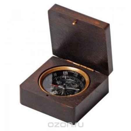 Купить Компас в деревянной коробке Экспедиция