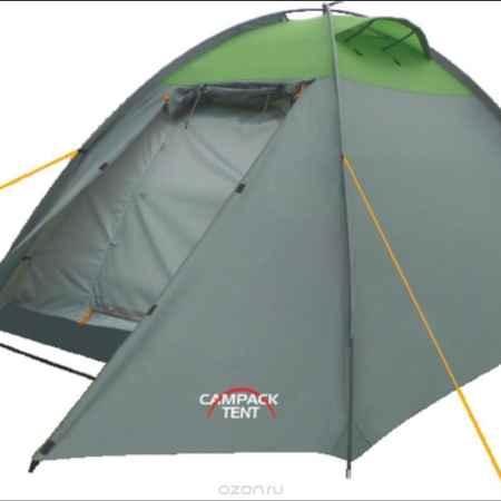 Купить Палатка Campack Tent Rock Explorer 2, цвет: серо-зеленый
