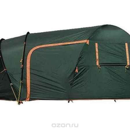 Купить Палатка Husky Blander 5 Dark Green, цвет: темно-зеленый