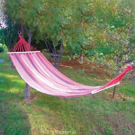 Купить Гамак Happy Camper c деревянной планкой, цвет: красный