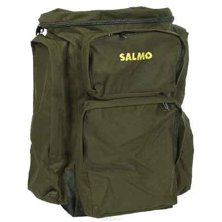 Купить Рюкзак рыболовный Salmo 105 л, цвет: зеленый