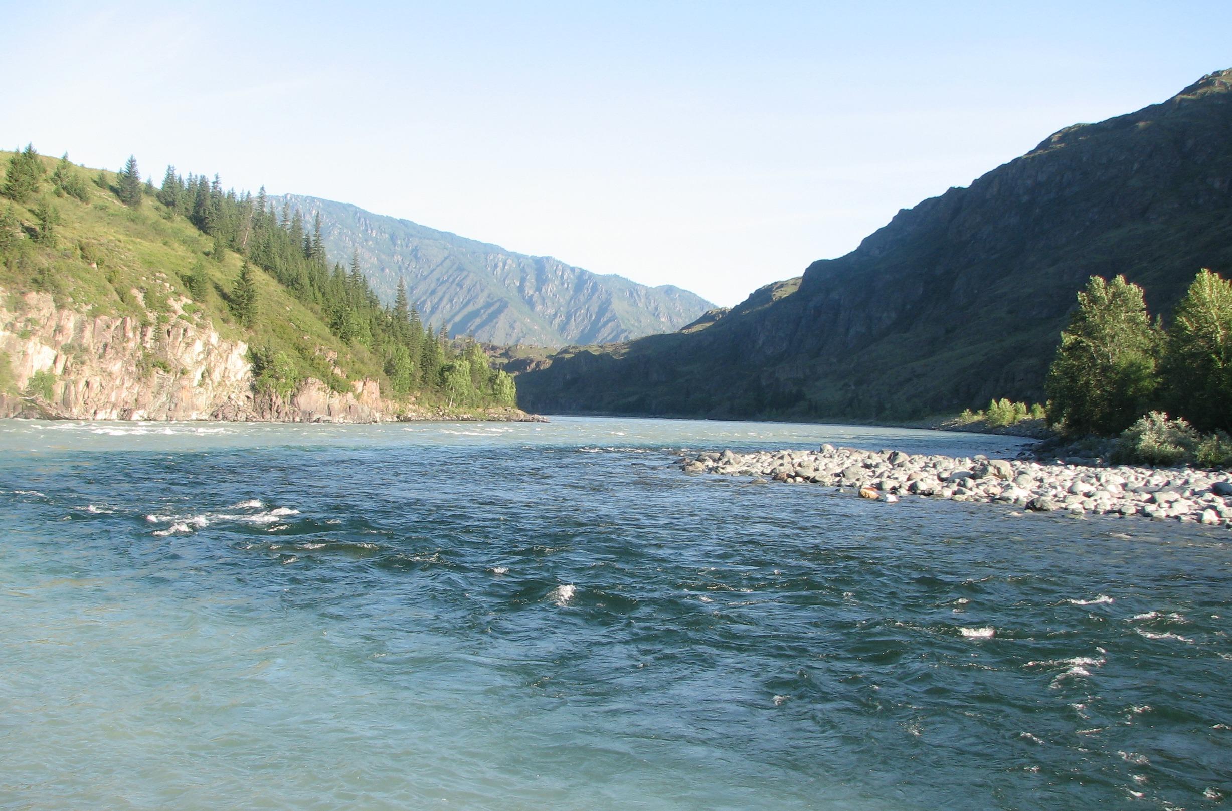 Где порыбачить в Горном Алтае