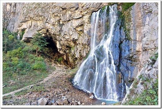 Гегский водопад   как добраться?