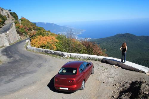 Что можно посмотреть в Крыму на машине