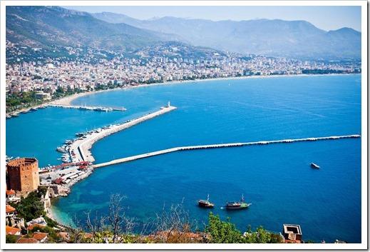 Активный отдых в Турции   какой курорт выбрать