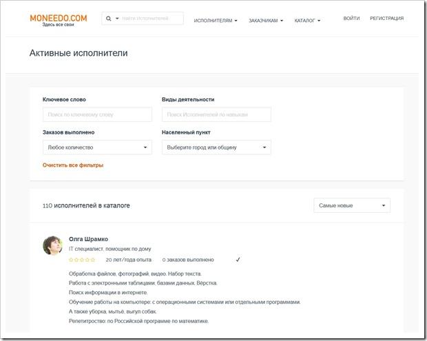 Обзор возможностей сервиса поиска русскоязычных мастеров в Болгарии Moneedo.com