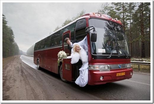 Как правильно арендовать автобус с водителем на свадьбу