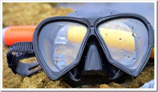 Как выбрать маску и трубку для плаванья